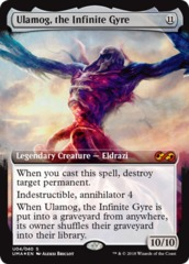 Ulamog, the Infinite Gyre - Foil on Channel Fireball