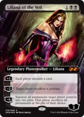 Liliana of the Veil - Box Topper - Foil