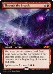 Through the Breach - Foil on Channel Fireball