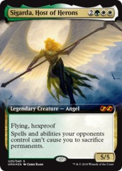 Sigarda, Host of Herons - Foil on Channel Fireball