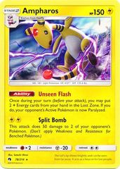 Ampharos - 78/214 - Non-Holo Theme Deck Exclusive