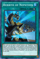 Rebirth of Nephthys - HISU-EN009 - Super Rare - 1st Edition