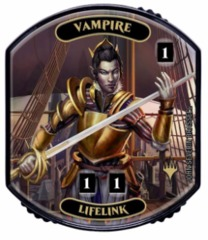 Ultra Pro - Relic Tokens: Lineage Collection - Vampire (Lifelink)