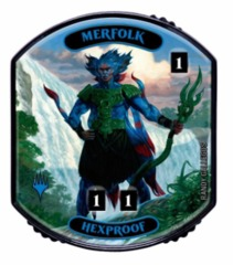 Ultra Pro - Relic Tokens: Lineage Collection - Merfolk (Hexproof) - Foil