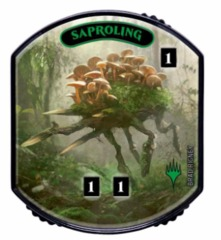 Ultra Pro - Relic Tokens: Lineage Collection - Saproling - Foil