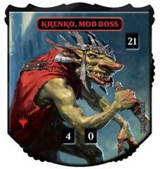 Ultra Pro - Relic Tokens: Legendary Collection - Krenko, Mob Boss - Foil