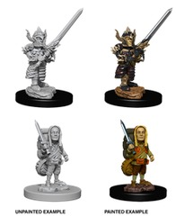 Nolzur's Marvelous Unpainted Miniatures - Male Halfling Fighter