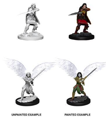 Nolzurs Marvelous Miniatures - Female Aasimar Fighter