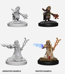 Nolzur's Marvelous Miniatures - Female Gnome Wizard