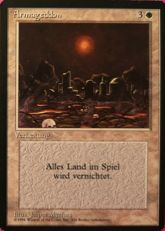 Armageddon - German