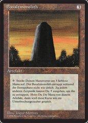 Basalt Monolith - German