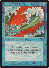 Blue Elemental Blast - German