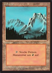 Mountain (Fog) - German