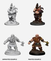 Nolzur's Marvelous Miniatures - Male Dwarf Barbarian