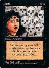 Fear - Italian