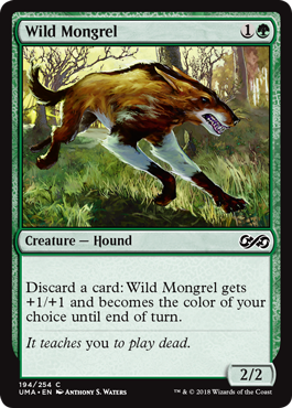 Wild Mongrel - Foil