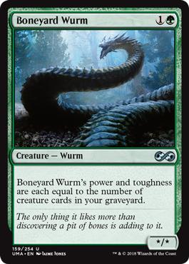 Boneyard Wurm - Foil