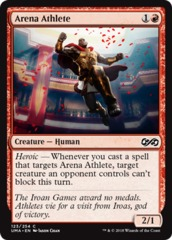 Arena Athlete - Foil on Channel Fireball