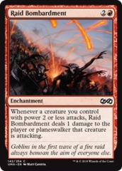 Raid Bombardment - Foil