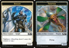 Knight Token // Thopter Token - Game Night