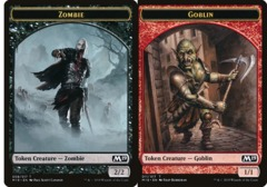 Zombie Token // Goblin Token - Game Night