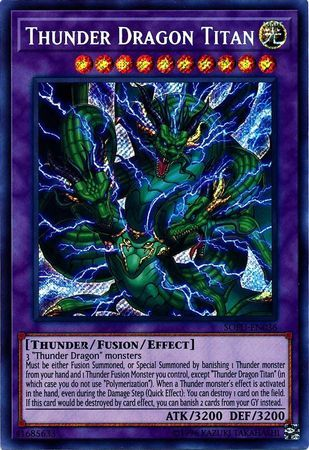 Thunder Dragon Titan - SOFU-EN036 - Secret Rare - Unlimited Edition