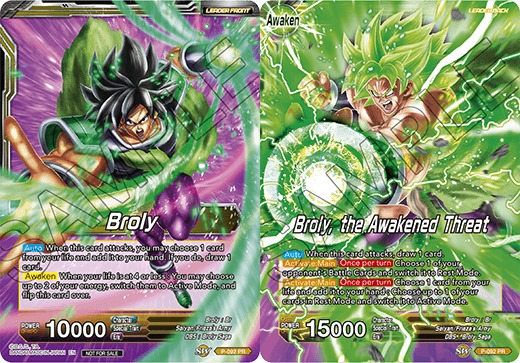 Broly // Broly, the Awakened Threat - P-092 - PR - Dragon Ball Super