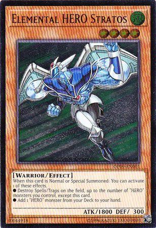 Elemental HERO Stratos - OP09-EN001 - Ultimate Rare - Unlimited