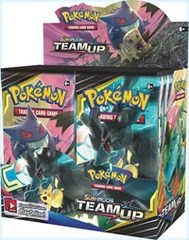 Sun & Moon - Team Up - Booster Display