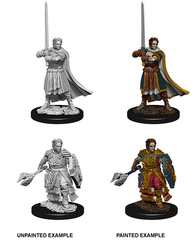 Nolzur's Marvelous Unpainted Miniatures - Male Human Cleric