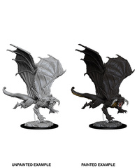 Nolzur's Marvelous Unpainted Miniatures - Young Black Dragon