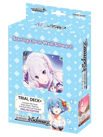 Re:Zero Starting Life In Another World Trial Deck