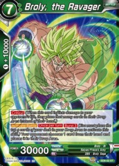 Broly, the Ravager - SD8-02 - ST - Parallel Foil on Channel Fireball