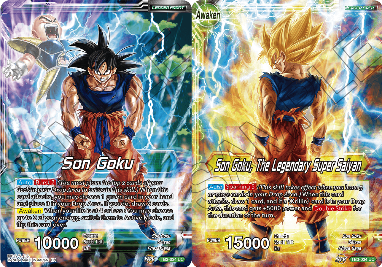 Son Goku Son Goku The Legendary Super Saiyan Tb3 034