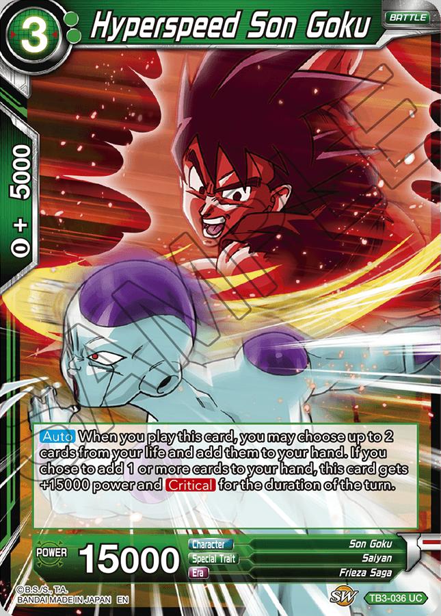 Hyperspeed Son Goku - TB3-036 - UC