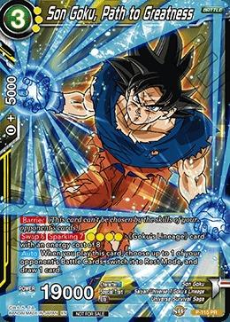 Son Goku, Path to Greatness - P-115 - PR