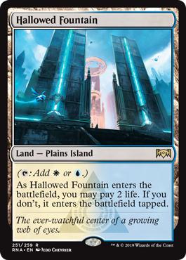 Hallowed Fountain - Foil