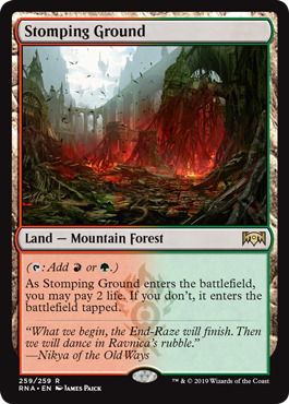 Stomping Ground - Foil