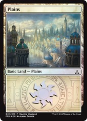 Plains - Azorius (B01/010) - Foil Ravnica Weekend Promo