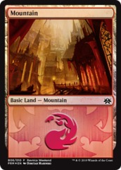 Mountain (B06/010) - Foil Ravnica Weekend Promo