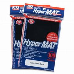 KMC Hyper Matte Black Sleeves (100ct)