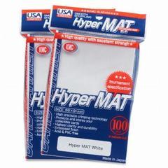 KMC Hyper Matte Sleeves - White (100ct)