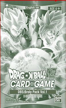 DBS: Broly Pack Vol.1