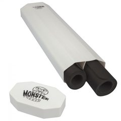Monster Dual Playmat Tube - White