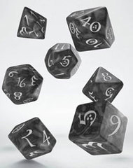 Classic RPG Dice Set smoky & white (7)