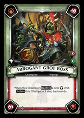 Arrogant Grot Boss (Unclaimed) - Foil