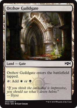 Orzhov Guildgate (253)