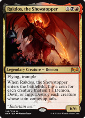 Rakdos, the Showstopper - Foil