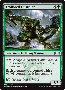 Trollbred Guardian - Foil