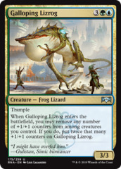 Galloping Lizrog - Foil